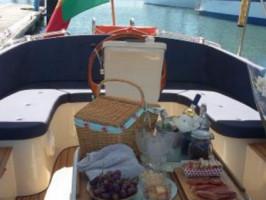 Passeio de barco no Tejo