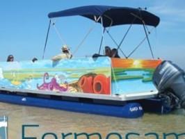 Passeio de barco na Ria Formosa