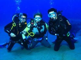 curso de mergulho