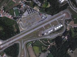 Vista geral do autódromo de Braga