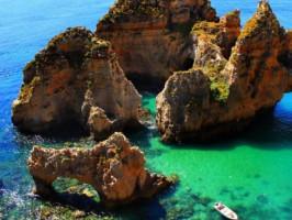 Grutas no Algarve