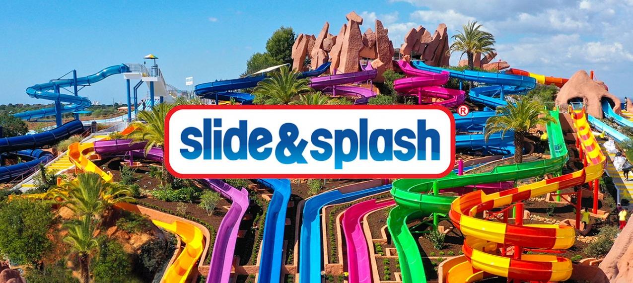 Slide and Splash - Um dos Melhores Parques Aquáticos da Europa no Algarve!
